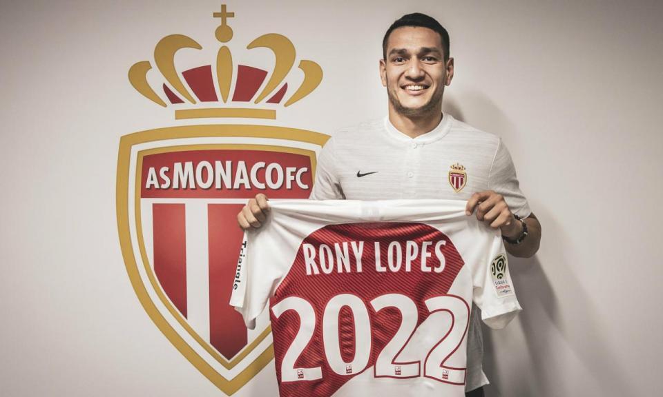 OFICIAL: Rony Lopes renova pelo Mónaco até 2022
