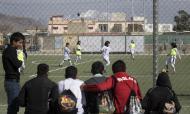 Futebol feminino no Afeganistão (REUTERS/Morteza Nikoubazl )