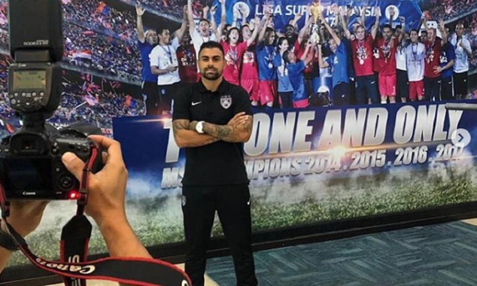 Ex-Sporting assina pelo pentacampeão da Malásia