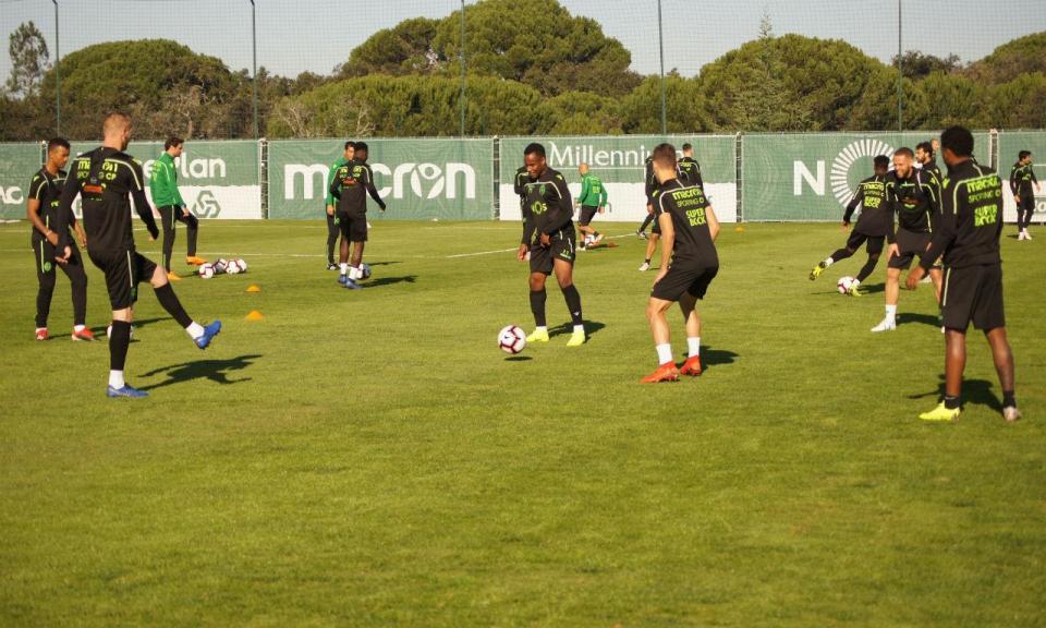 Sporting: preparação para o Aves prossegue com duas ausências