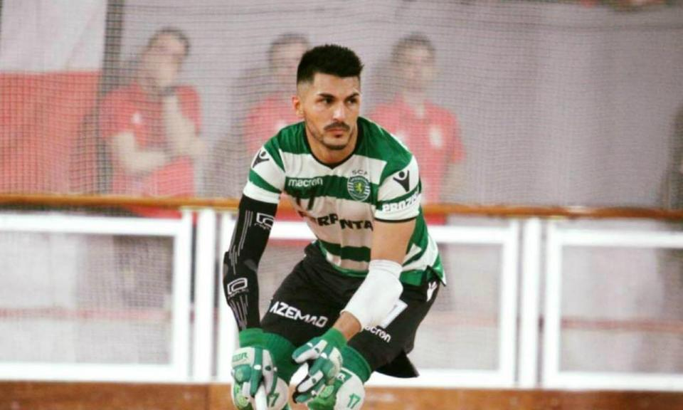 Sporting renova contrato com Matías Platero