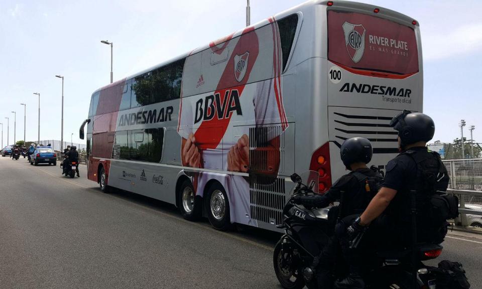 Libertadores: quatro mil polícias na final entre River e Boca