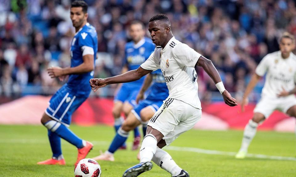 VÍDEO: Real Madrid vence Leganés (3-0) com golaço de Vinícius Júnior