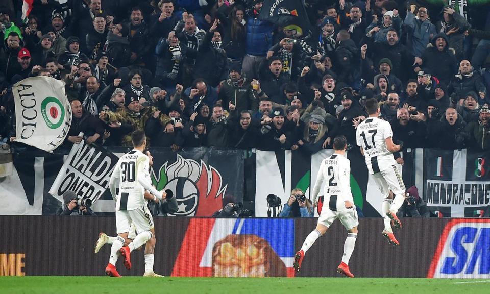 VÍDEO: o golo de Mandzukic que dá vantagem à Juventus frente ao Inter