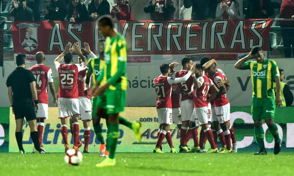 Tondela-Sp. Braga, 0-1 (crónica)