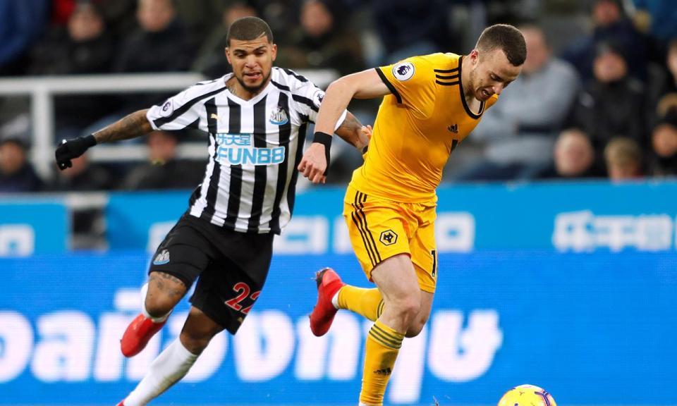 Jota marca e faz raide que resgata a vitória do Wolves em Newcastle ... fadd4b7691884