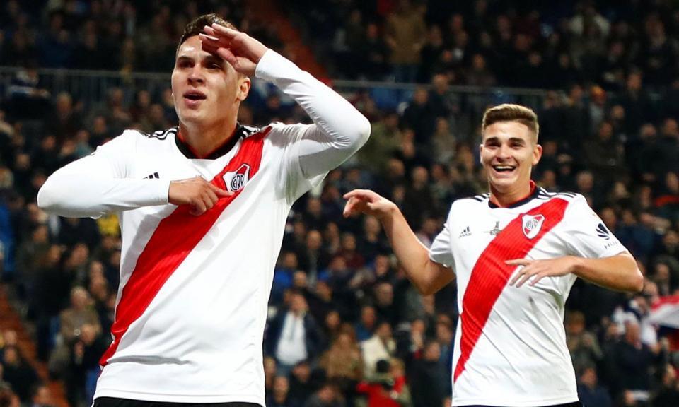 VÍDEO: o golaço de Quintero no River Plate-Racing