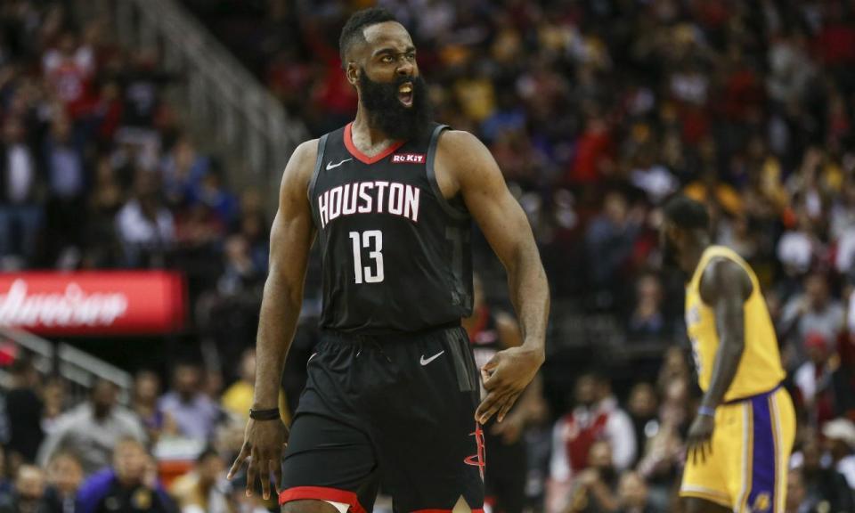 NBA: Harden continua imparável e Rockets vencem Lakers (VÍDEO)