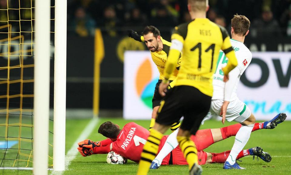 Alemanha: Dortmund sem Guerreiro perde em Dusseldorf