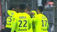 O golo de Rafael Leão na vitória do Lille