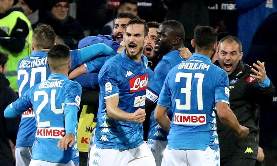 Taça de Itália: Nápoles vence e marca encontro com Milan nos «quartos»