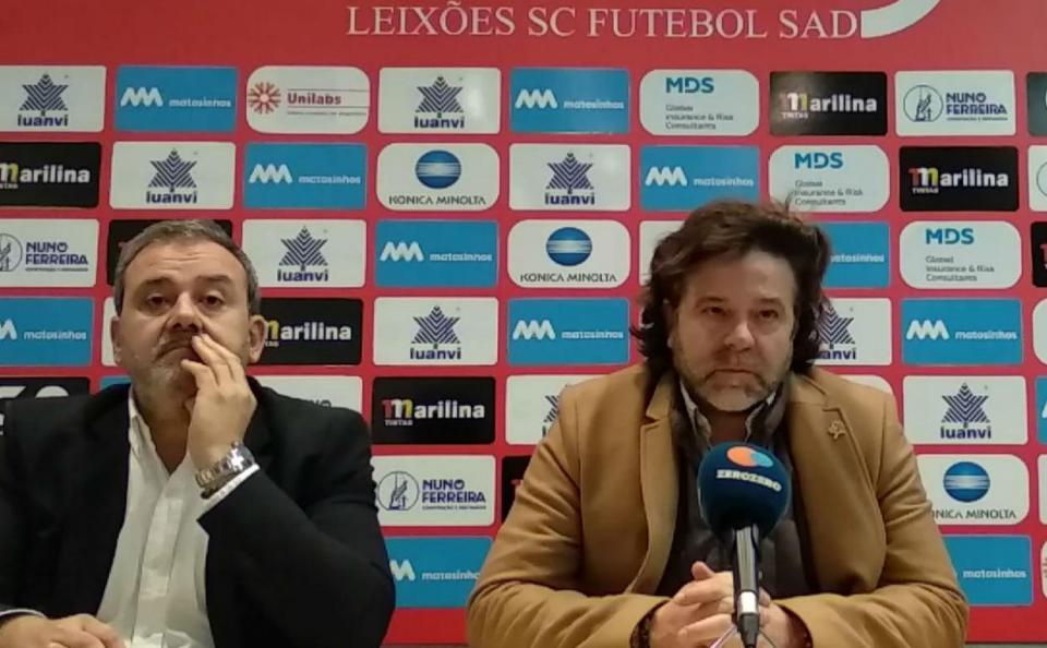 II Liga: Leixões rescinde com treinador Filipe Gouveia