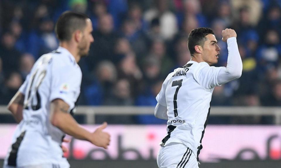 2bea5d0b52 VÍDEO  o golo de Ronaldo que deu à Juventus a Supertaça ...
