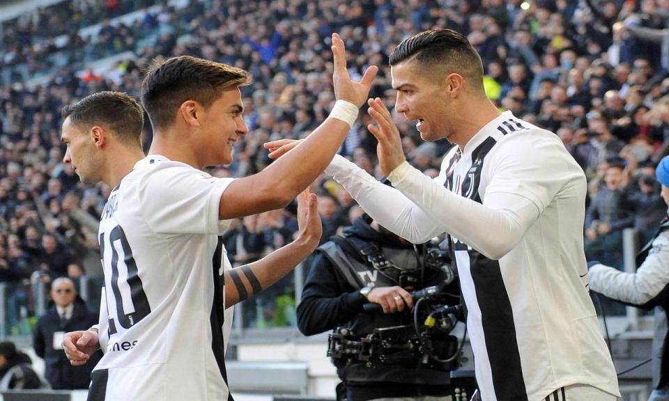 92acc046fd VÍDEO  Ronaldo bisa e Juve acaba salva pelo VAR