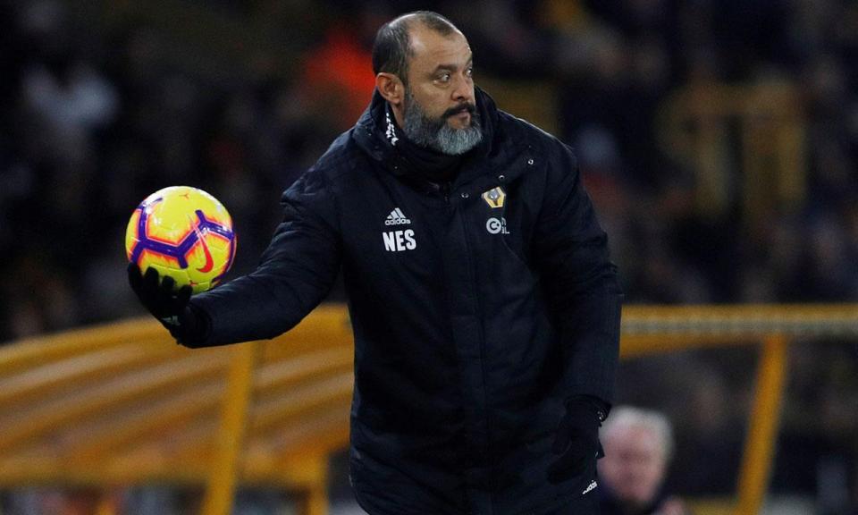 Premier League: Nuno Espírito Santo nomeado para treinador do mês