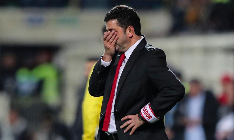 Benfica: a retoma não viu a luz
