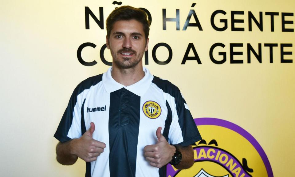 Nacional: Filipe Ferreira sem certificado internacional para jogar