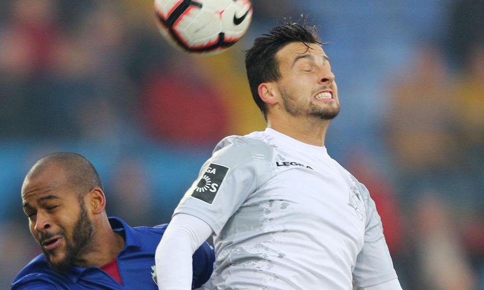 Feirense: lesão muscular afasta Luís Machado quatro semanas