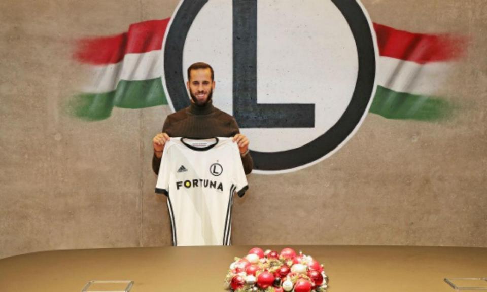 Made in: Luís Rocha deixa a Grécia para reforçar Legia de Sá Pinto