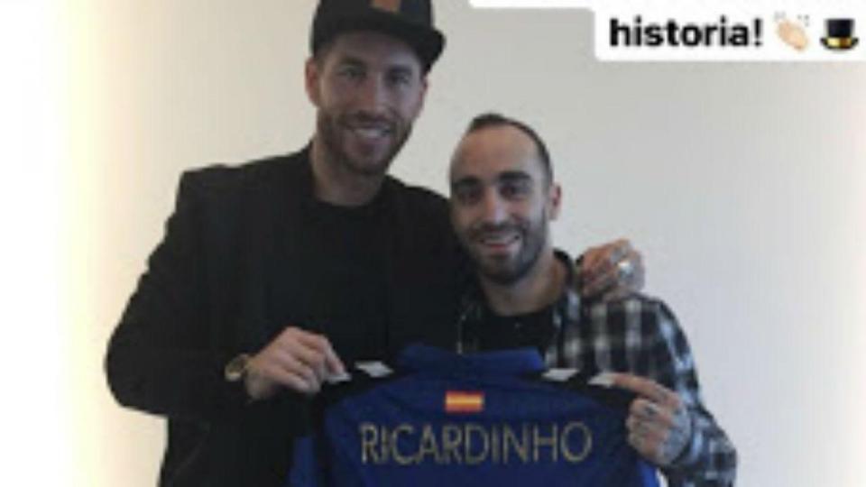 Ramos enaltece Ricardinho por «ser o jogador com mais Bolas de Ouro»