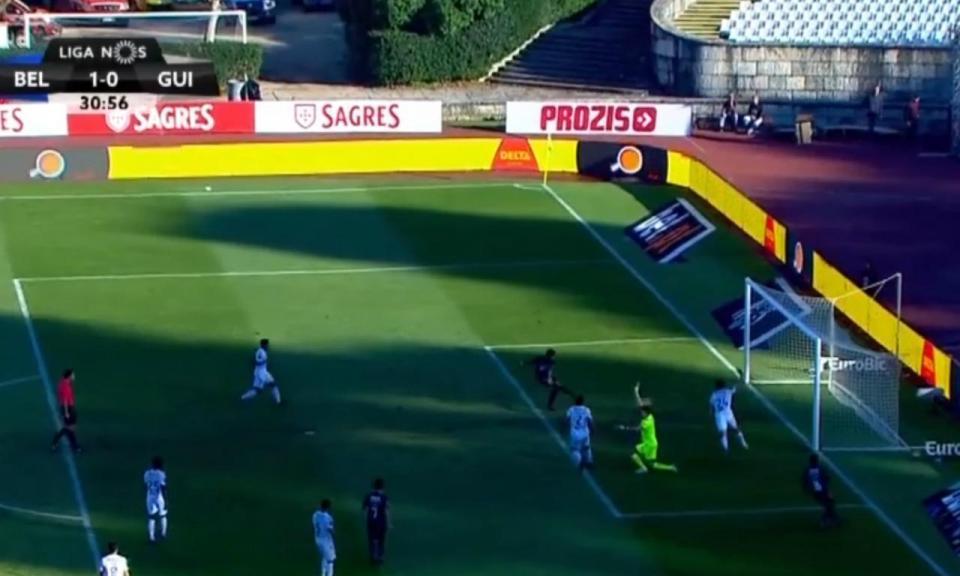 VÍDEO: Henrique abre o marcador no Belenenses-V. Guimarães