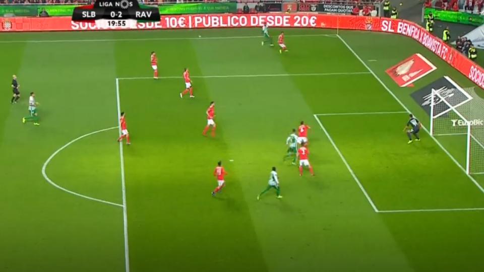 VÍDEO: Bruno Moreira faz o 0-2 e assusta a Luz