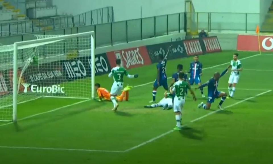 VÍDEO: o golo anulado ao Desp. Aves ante o Moreirense