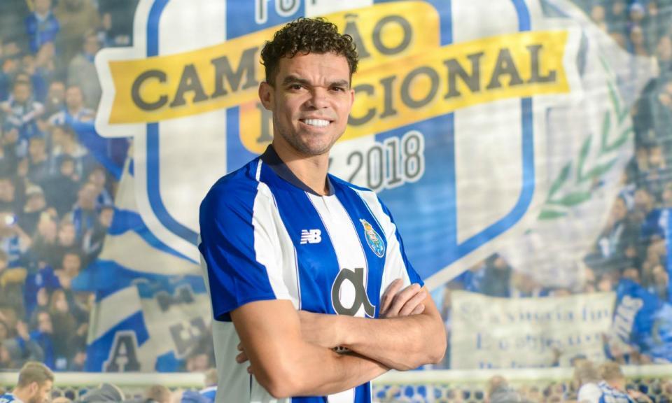 OFICIAL: Pepe é reforço do FC Porto