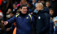 Nigel Clough e Pep Guardiola