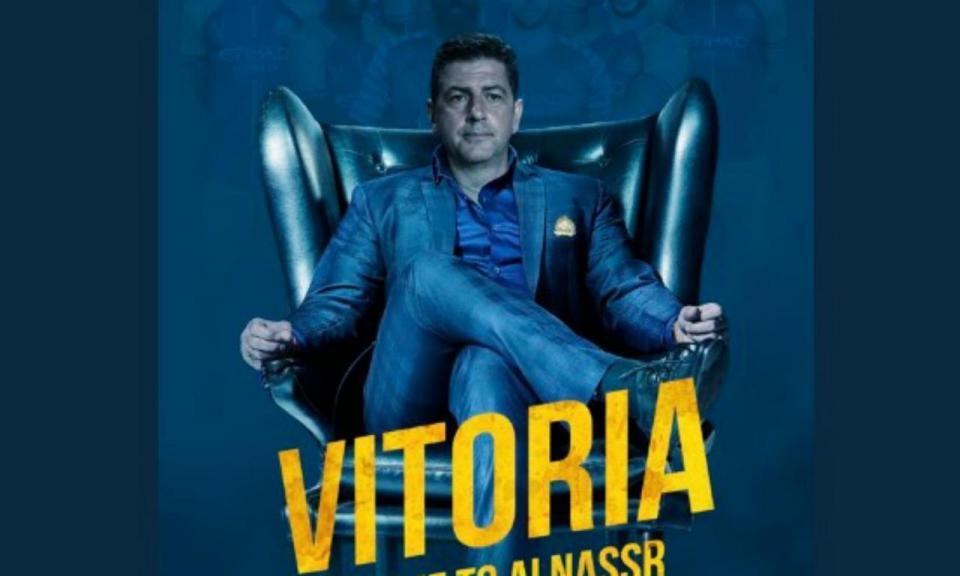 FOTOS: Al Nassr dá as boas-vindas a Rui Vitória em grande estilo