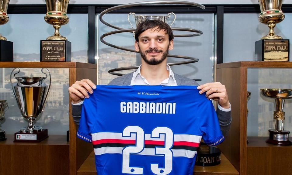 Itália: Gabbiadini regressa à Sampdoria