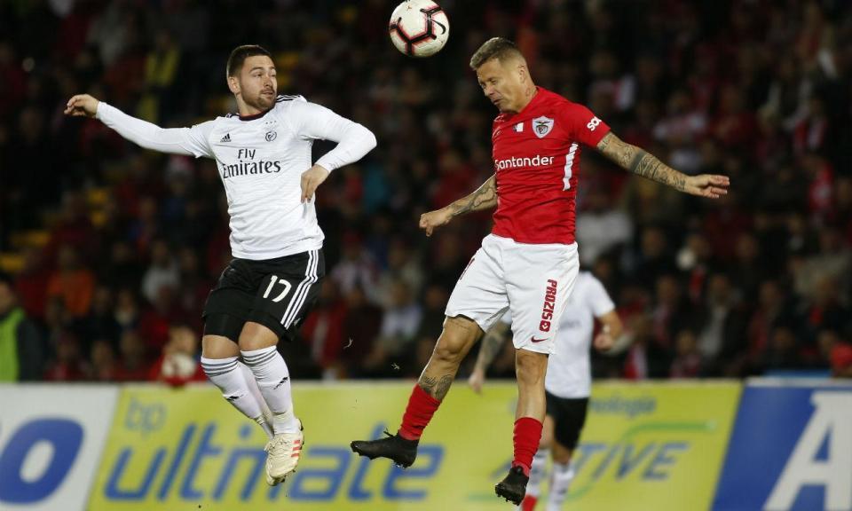 Santa Clara-Benfica, 0-2 (resultado final)