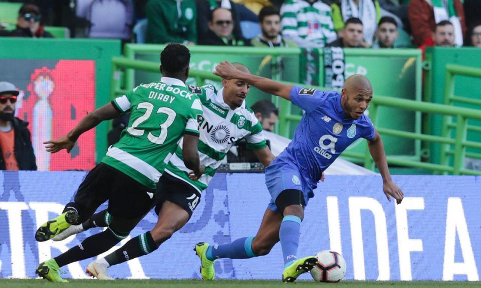 Sporting-FC Porto, 0-0 (destaques dos «dragões»)