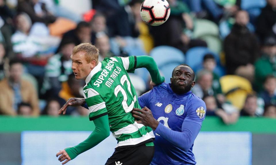 Sporting-FC Porto, 0-0 (destaques dos «leões»)
