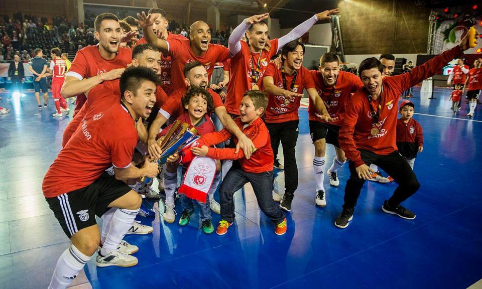 Futsal: Benfica bate Sp. Braga e conquista Taça da Liga