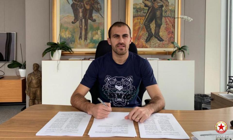 OFICIAL: Tiago Rodrigues renova com CSKA Sofia