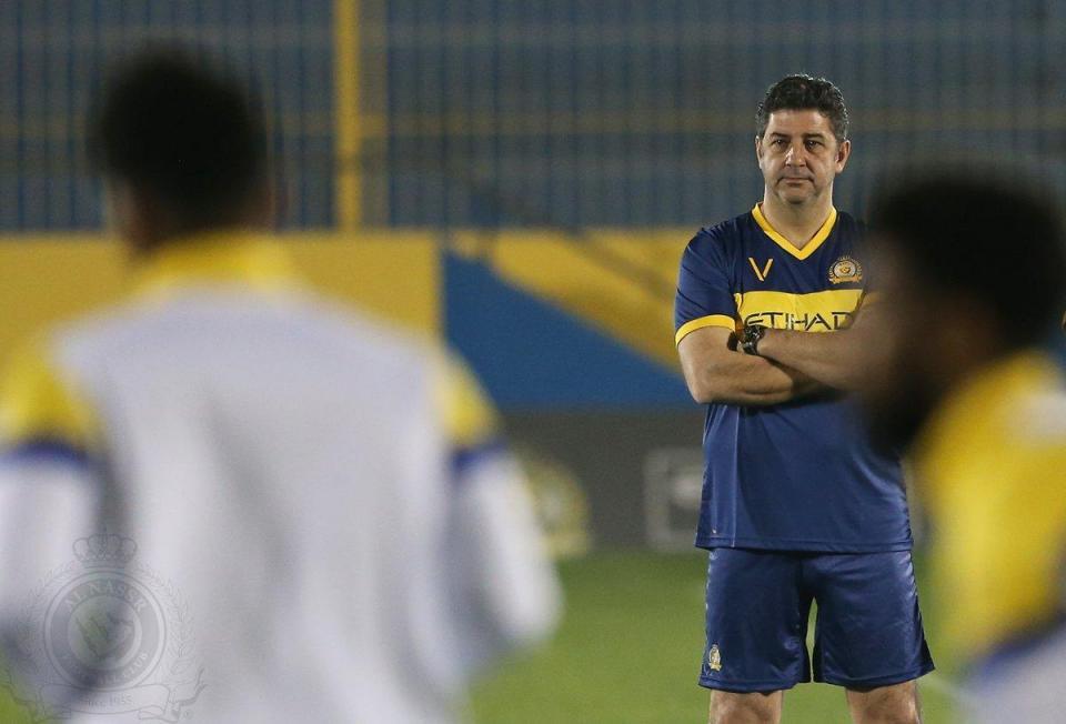 Rui Vitória estreia-se no Al Nassr com goleada  9260e3c5f38f3