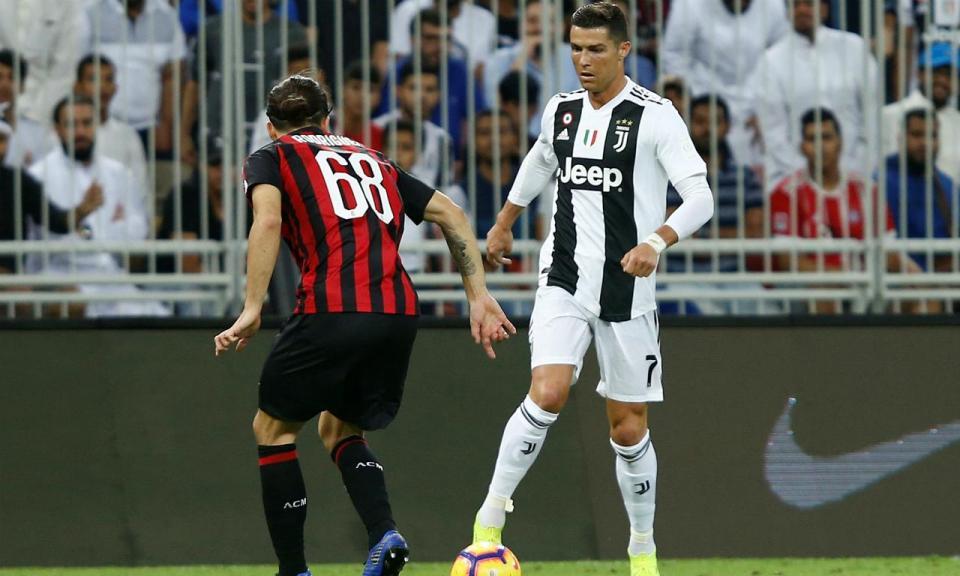 Cristiano Ronaldo marca e festeja primeiro título com a Juventus ... d3e0663ba0f75