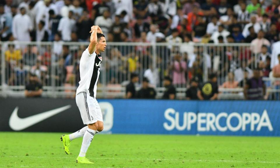 VÍDEO: o golo de Ronaldo que fez o 3-0 para a Juventus