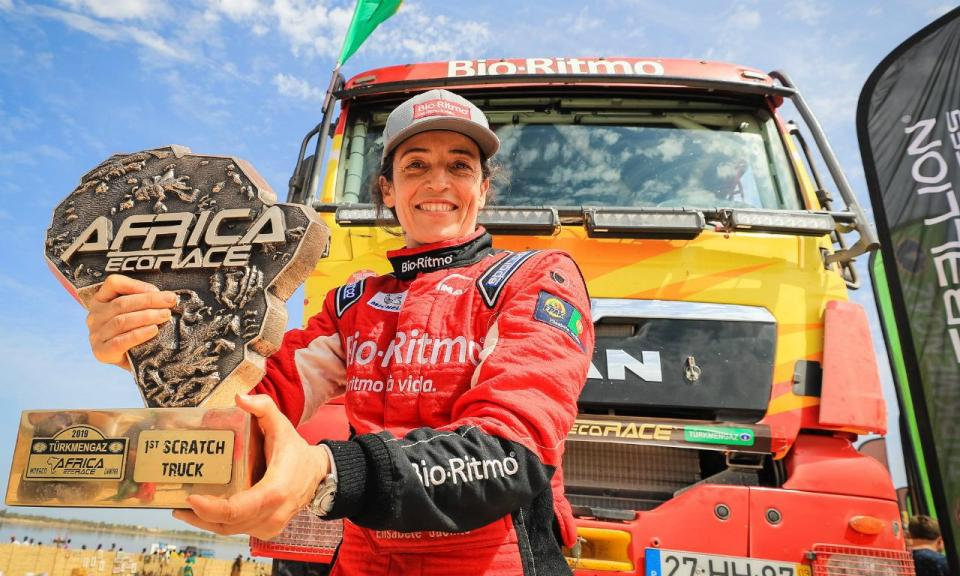«Quando acabei o Dakar, disse: 'Eu faço na vida tudo o que quiser'»