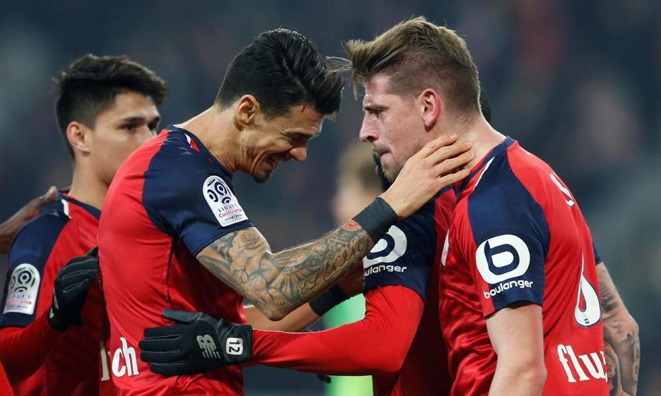 Trio português do Lille segura segundo lugar com golo ao minuto 88