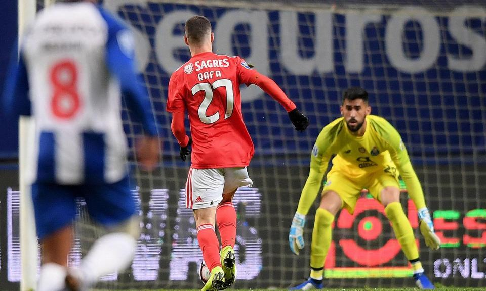 Benfica-FC Porto: sabe qual foi o jogador que perdeu mais bolas?