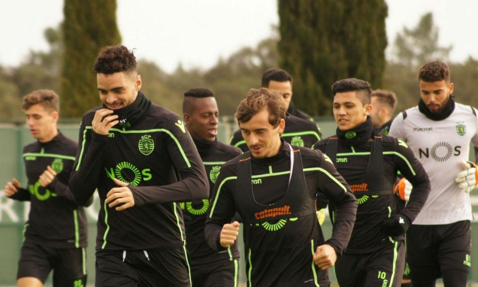 Sporting: novidade nos ausentes na véspera do jogo com o Villarreal