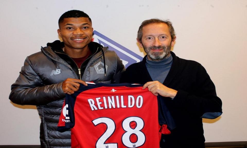 Belenenses: Reinildo ainda não pode jogar pelo Lille