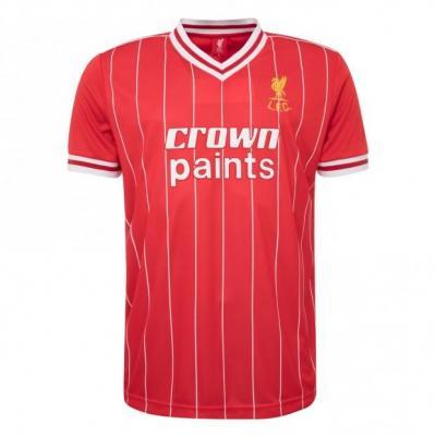 º aniversário Liverpool  a camisola da época de 1982 ... a5daa1a4d2621