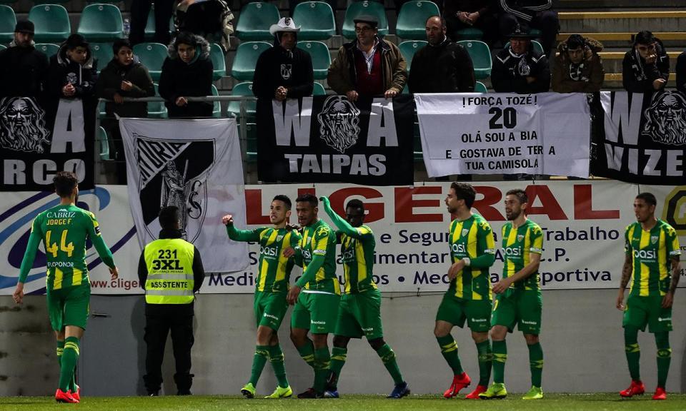 Tondela-V. Guimarães, 1-0 (crónica)