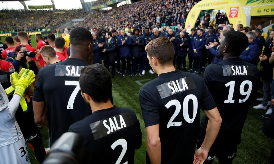 Nantes avança com queixa contra o Cardiff por causa de Sala