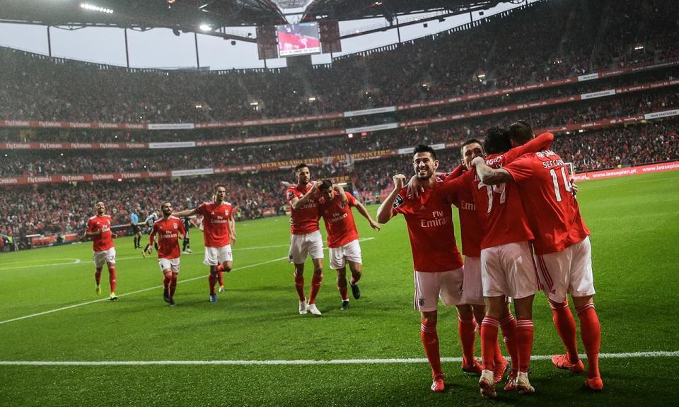 Benfica não goleou só no resultado: um remate a cada três minutos