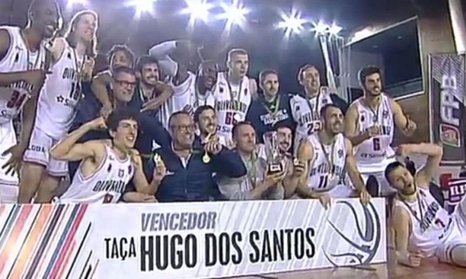 Taça Hugo dos Santos: Oliveirense bate Benfica e conquista troféu