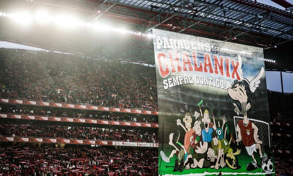 Benfica homenageou Chalana em dia de aniversário